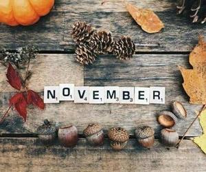 november, autumn, and fall image