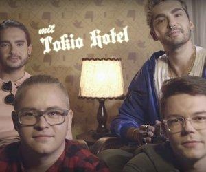 tom kaulitz, georg listing, and bill kaulitz image
