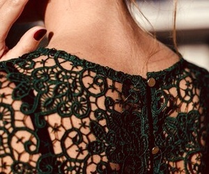 back, fashion, and green image