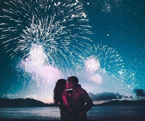 fireworks, photography, and love image