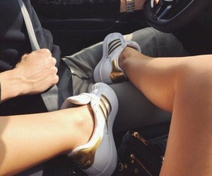 adidas, sneakers, and cars image