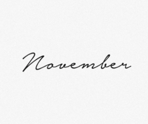 fall and november image