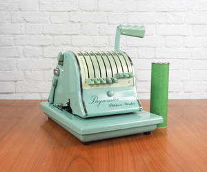 etsy, mid century, and mint green image