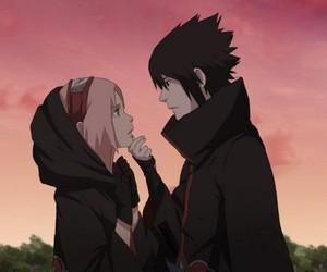 sasuke, sakura, and sasusaku image
