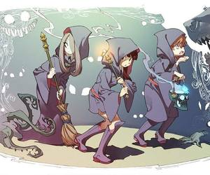 little witch academia and anime image