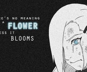 anime, flowers, and ino image