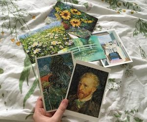 art, aesthetic, and van gogh image