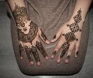 henna, mehndi, and moroccan image