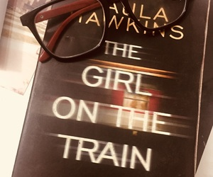 books, the girl on the train, and reading image
