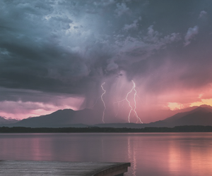 nature, storm, and clouds image