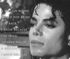 michael jackson, sad, and love image