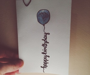 art, balloon, and birthday image