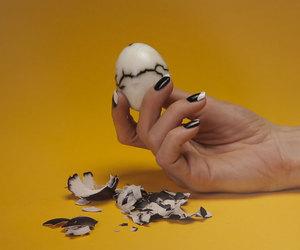art photography, egg, and yellow image