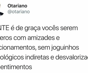 amizade, brasil, and frase image