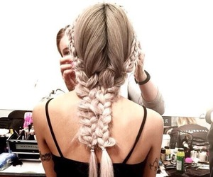 chic, tumblr, and hairs style image
