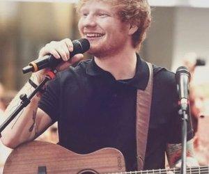 ed sheeran, ed, and singer image
