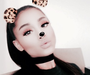 ariana grande, ariana, and moonlightbae image