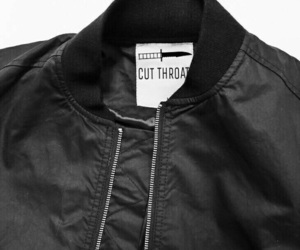 aesthetic, jacket, and black image