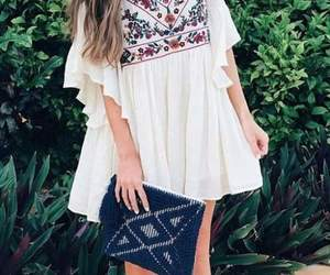 outfit, dress, and vestido image