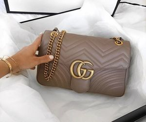 beautiful, brown, and gucci image