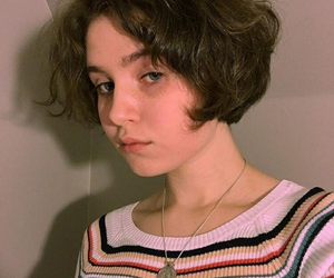 short hair and clairo image
