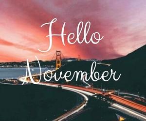 good, hello, and november image
