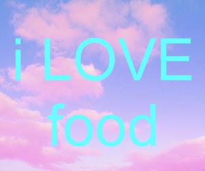 food, love, and i image