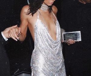 diamonds, diamond dress, and kendall jenner image
