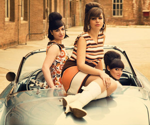 60s, beehive, and boots image