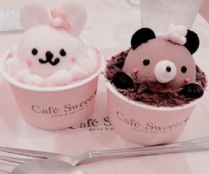 food, kawaii, and ice cream image