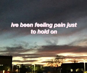 lyric, sunset, and quote image