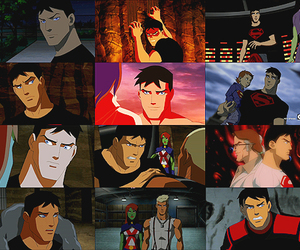 superboy, dc comics, and young justice image