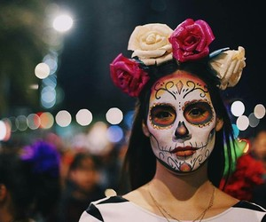 amazing, flowers, and maquillaje image