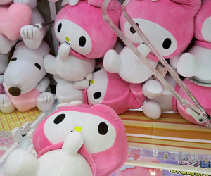 sanrio, my melody, and pink image