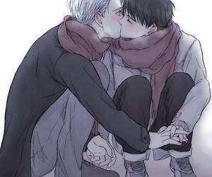 anime, yuri on ice, and victor x yuri image