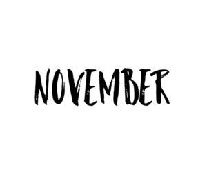 months, november, and quotes image