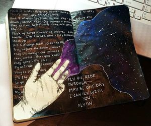 aesthetics, journaling, and notes image