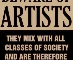artist, art, and society image