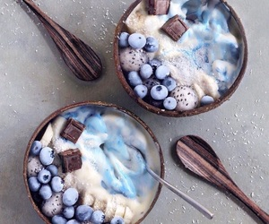 blue, delicious, and food image