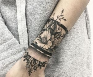 arm, artist, and art image