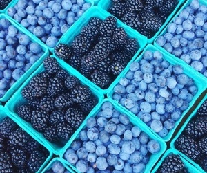 berries, berry, and blue image
