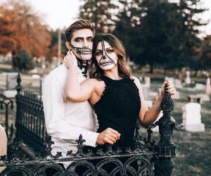 boy, costume, and couple image