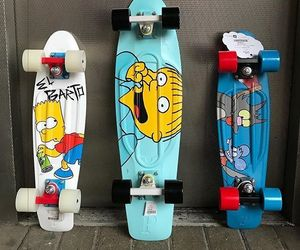 bart, boards, and penny image