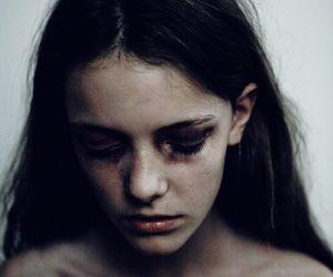girl and sad image