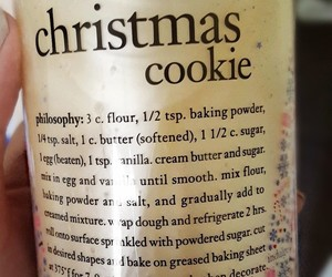 cookie, philosophy, and christmas cookie image