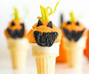 Halloween and ice cream image