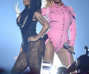 beyoncé, nicki minaj, and Queen image