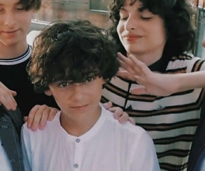 finn wolfhard, it, and theme image