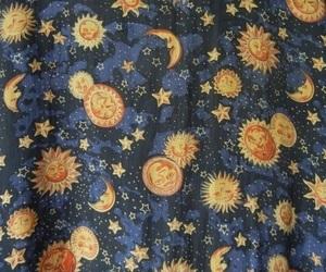 moon, sun, and grunge image