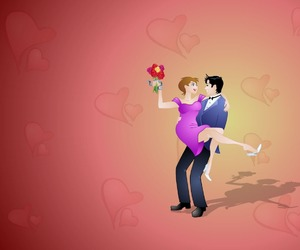 flowers, valentines day, and send flowers online image